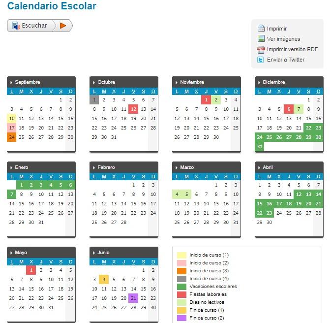 Calendario Educacyl.Escuela Municipal De Musica Laciana